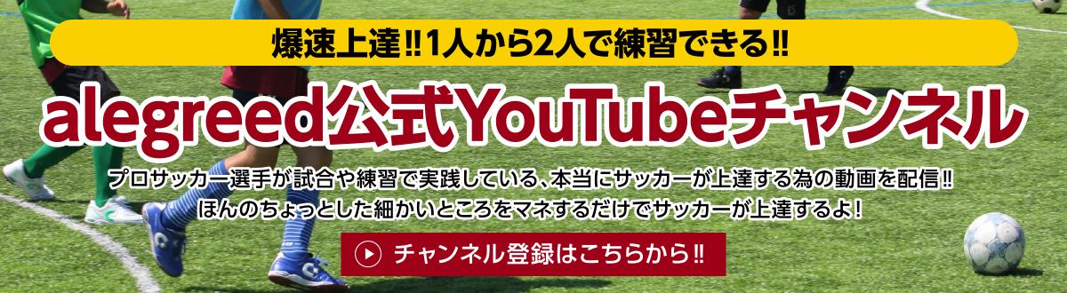 alegreed公式Youtubeチャンネル